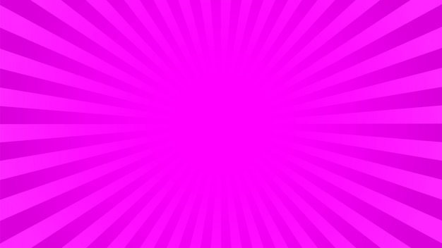 Fundo de raios-de-rosa brilhante Vetor Premium