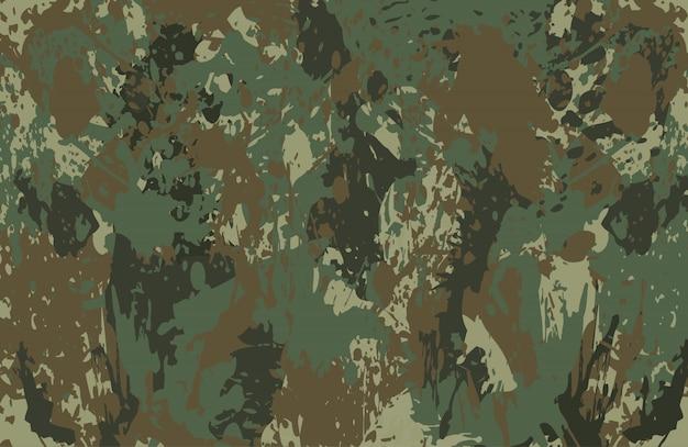 Fundo de respingos de camuflagem Vetor Premium