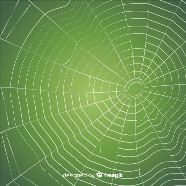 Fundo de teia de aranha assustador Vetor grátis