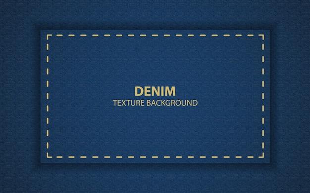 Fundo de textura abstrato azul jeans Vetor Premium