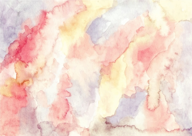 Fundo de textura aquarela abstrata vintage Vetor Premium