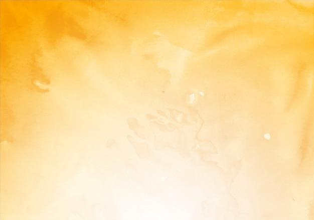 Fundo de textura aquarela amarela moderna Vetor grátis