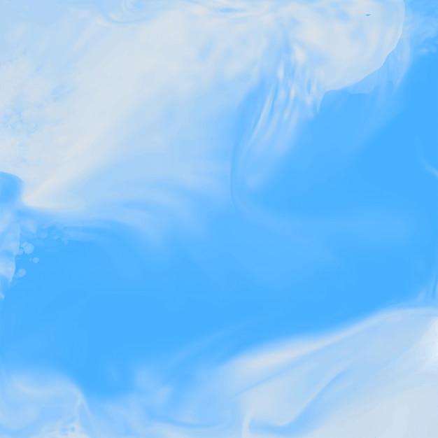 Fundo de textura aquarela de sombra azul Vetor grátis