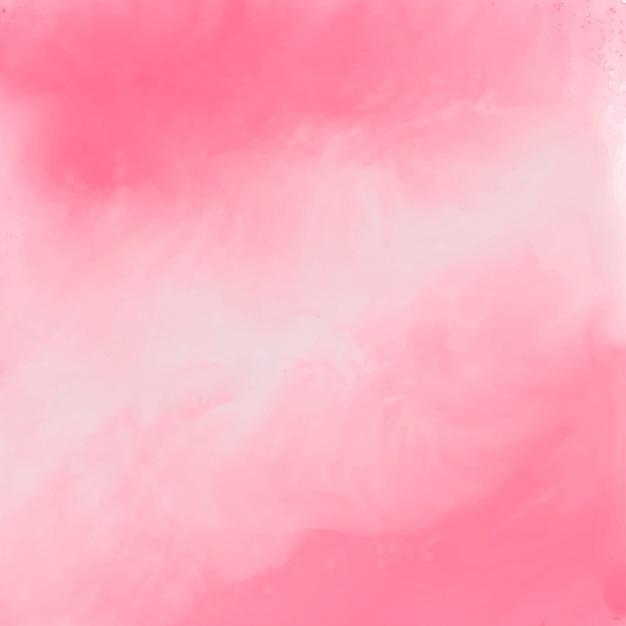 Fundo de textura aquarela rosa elegante Vetor grátis