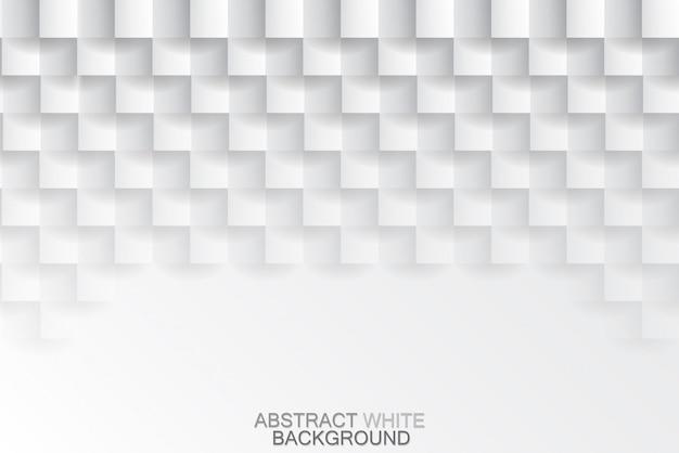 Fundo de textura de azulejos brancos Vetor Premium