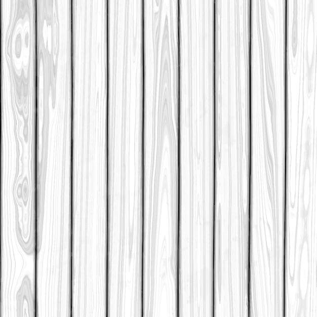 Fundo de textura de madeira branca Vetor grátis