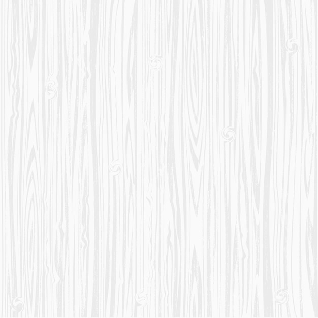 Fundo de textura de madeira branca Vetor Premium