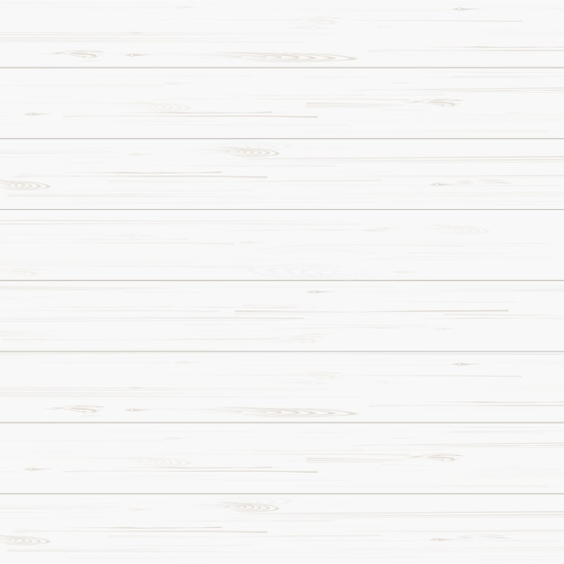 Fundo de textura de madeira branca. Vetor Premium