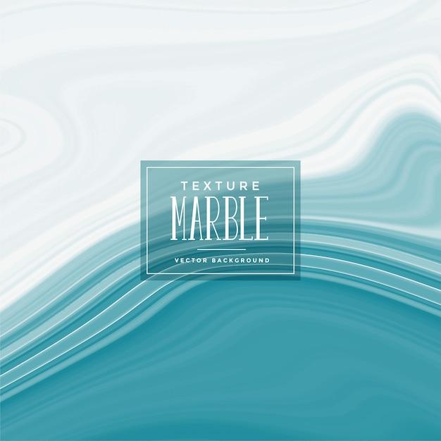 Fundo de textura de mármore líquido azul elegante Vetor grátis