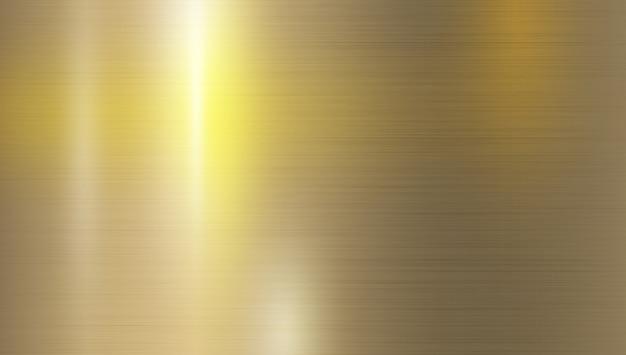 Fundo de textura de metal com cor de reflexão Vetor Premium