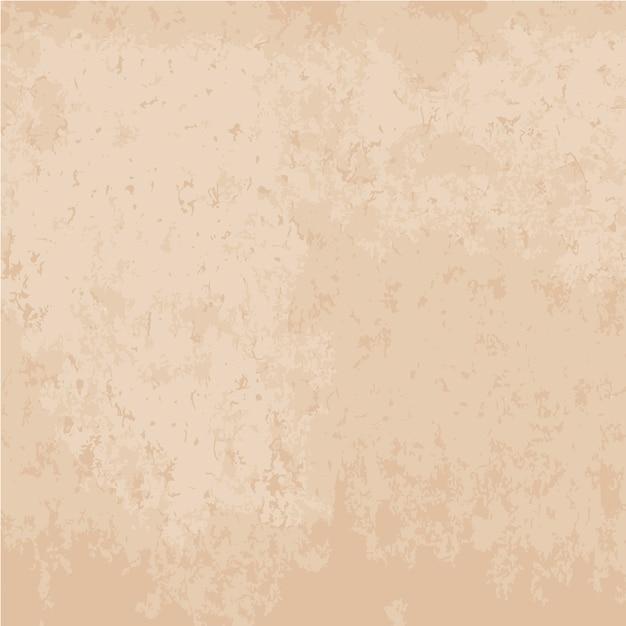 Fundo de textura de papel antigo na cor bege Vetor grátis