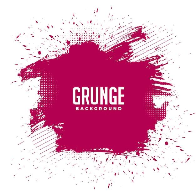 Fundo de textura de respingos de tinta grunge bagunçado abstrato Vetor grátis