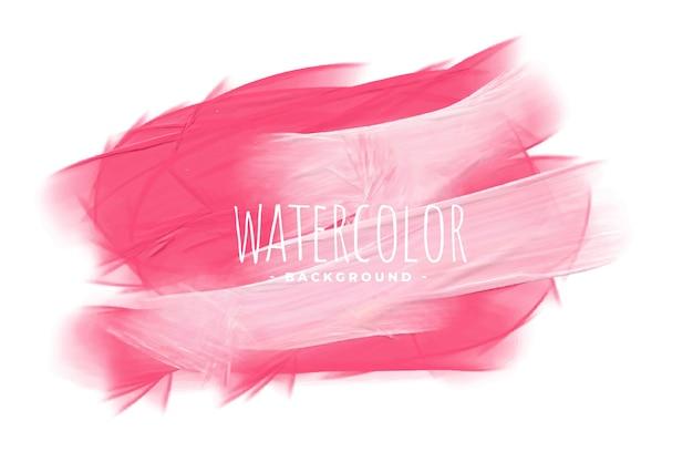 Fundo de textura de tinta aquarela em tom rosa elegante Vetor grátis