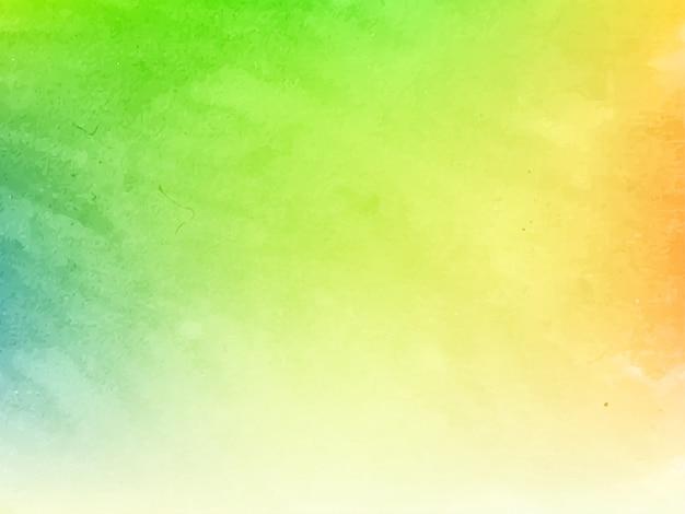 Fundo de textura elegante desenho aquarela colorido Vetor Premium