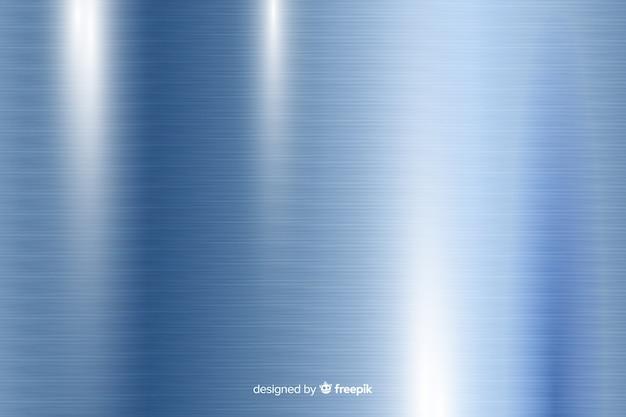 Fundo de textura metálica com linhas verticais azuis Vetor grátis