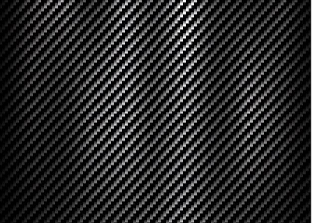 Fundo de textura padrão de fibra de kevlar de carbono Vetor Premium