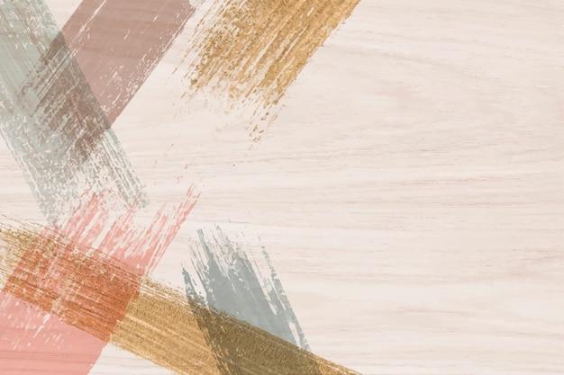 Fundo de traçados de pincel Vetor grátis