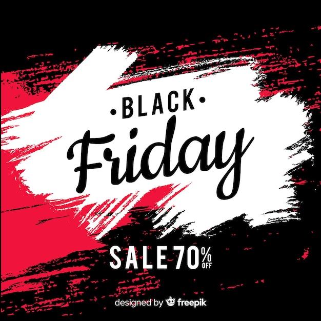 Fundo de venda sexta-feira negra abstrata Vetor grátis