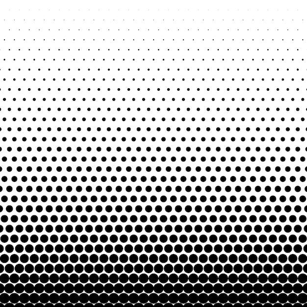 Fundo de vetor de meio-tom preto círculo Vetor grátis