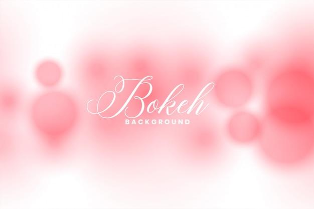 Fundo desfocado abstrato rosa efeito de luz bokeh Vetor grátis