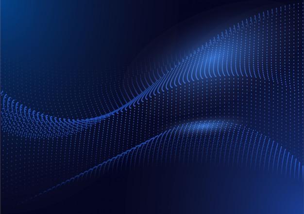 Fundo digital de tecnologia circuito futurista Vetor Premium