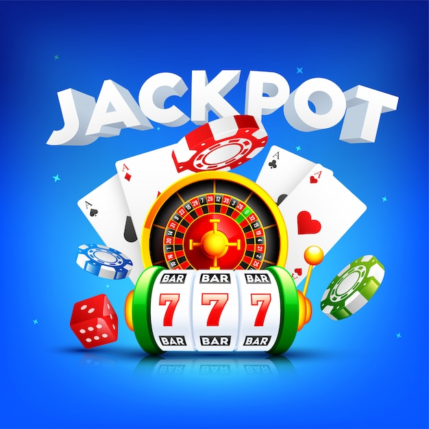 Fundo do casino. Vetor Premium