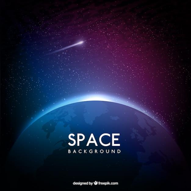 Fundo do espaço Vetor grátis