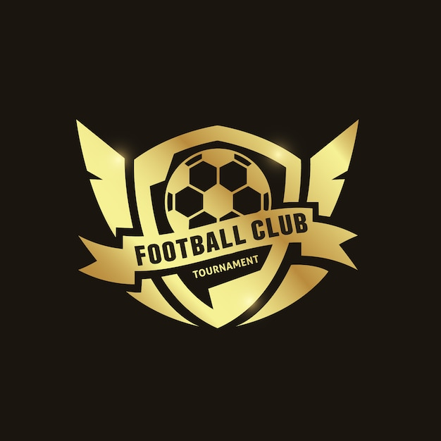 Fundo Do Logotipo Do Futebol