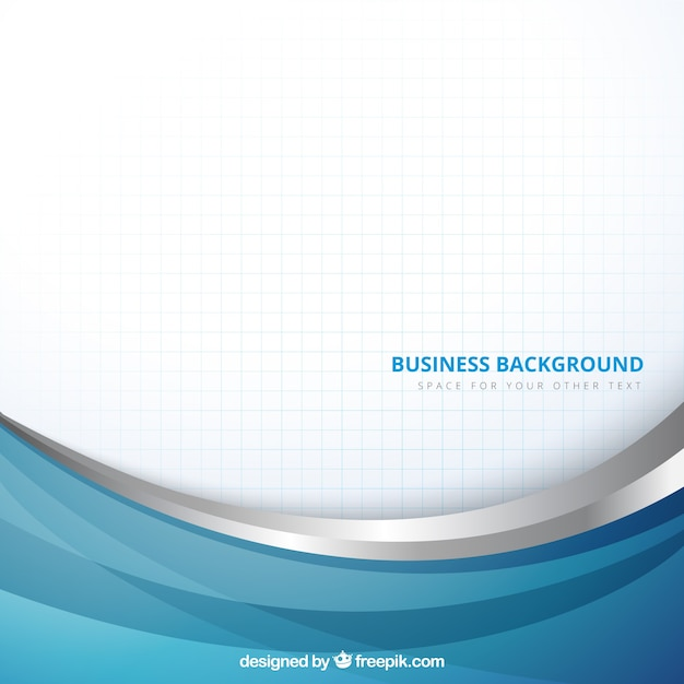 Fundo do negócio no estilo abstrato Vetor Premium