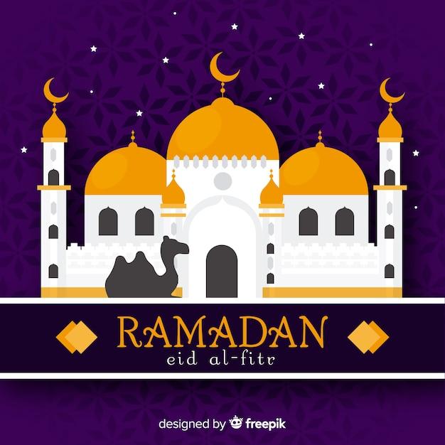 Fundo do ramadã Vetor grátis
