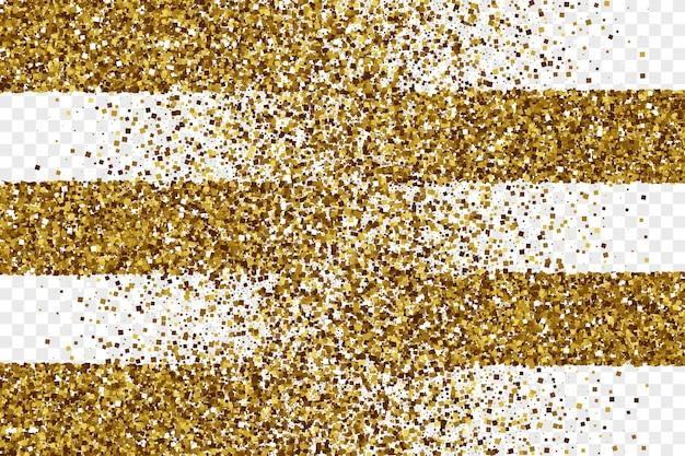 Fundo dourado brilhante ouropel vetor abstrato Vetor Premium