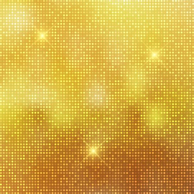Fundo dourado brilhante Vetor Premium