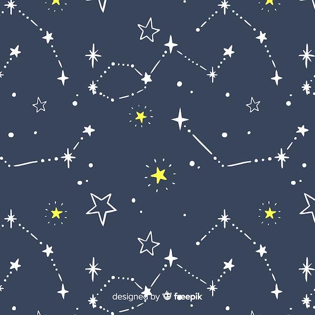 Fundo estrela Vetor grátis