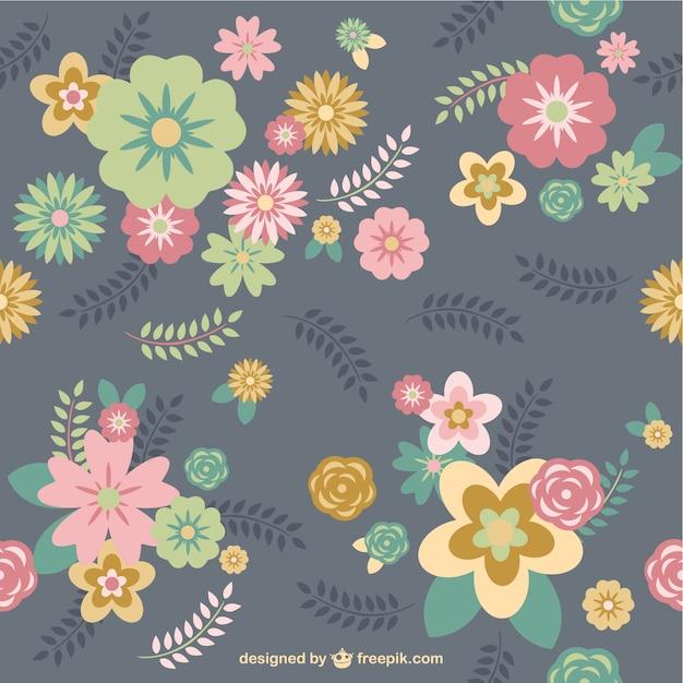 Fundo floral rosa vetor | baixar vetores grátis.