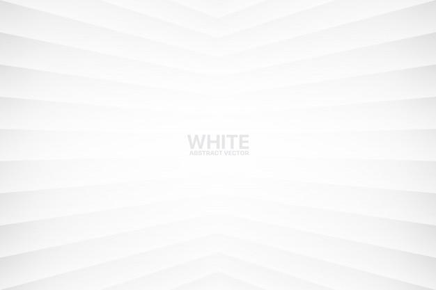 Fundo geométrico abstrato branco Vetor Premium