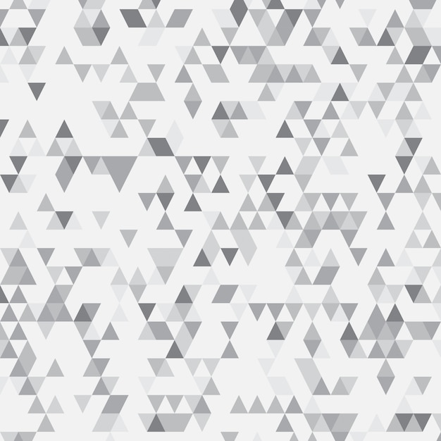 Fundo geométrico abstrato cinzento Vetor grátis