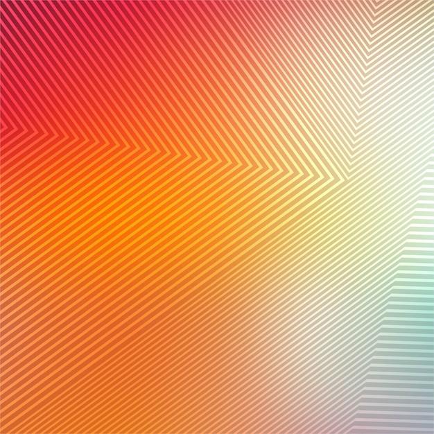 Fundo geométrico abstrato colorido linhas Vetor grátis