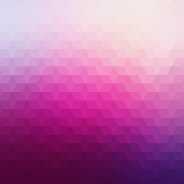 foto de Fundo geométrico abstrato em tons de rosa Vetor Grátis