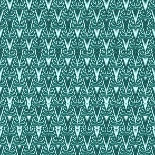 Fundo geométrico abstrato sem costura Vetor grátis
