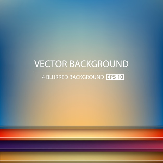 Fundo geométrico abstrato vector criativo. Vetor Premium