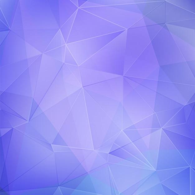 Fundo geométrico azul e roxo Vetor Premium