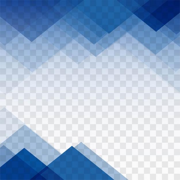 Fundo geométrico azul Vetor grátis