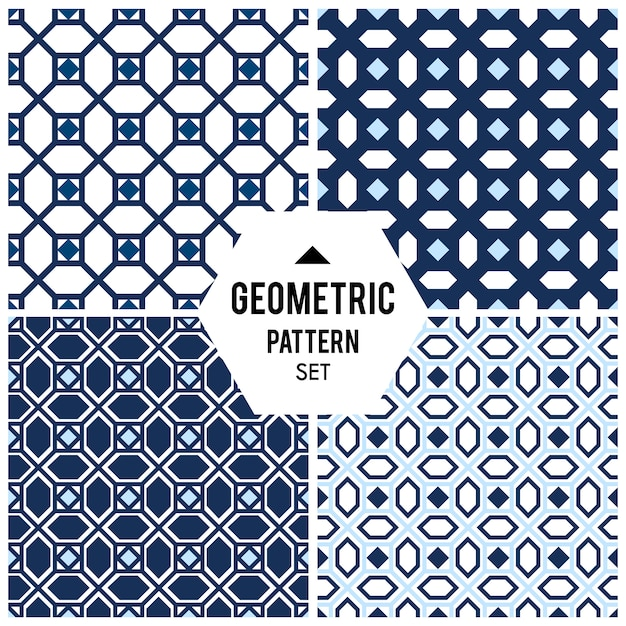 Fundo geométrico com losango e nós. padrão geométrico abstrato Vetor grátis