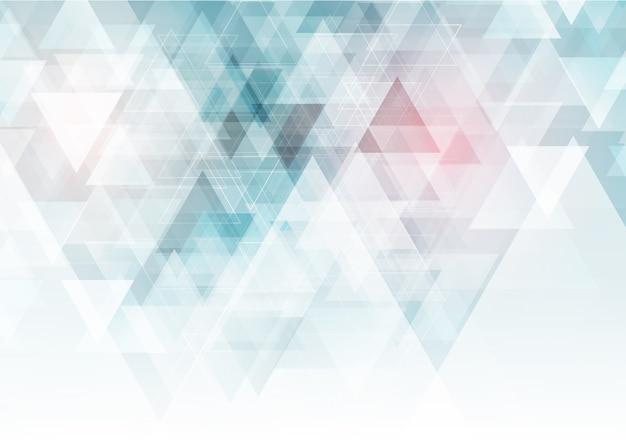 Fundo geométrico de baixo poli Vetor Premium