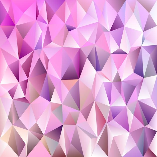 Fundo geométrico de padrão de triângulo em mosaico abstrato - design de mosaico vetorial de triângulos coloridos Vetor grátis