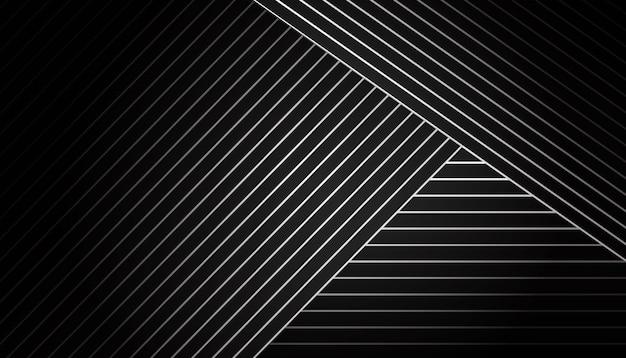 Fundo geométrico escuro Vetor grátis