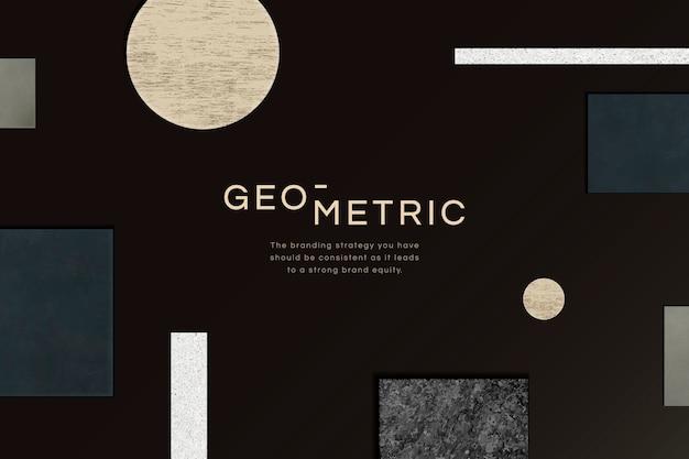 Fundo geométrico moderno Vetor grátis