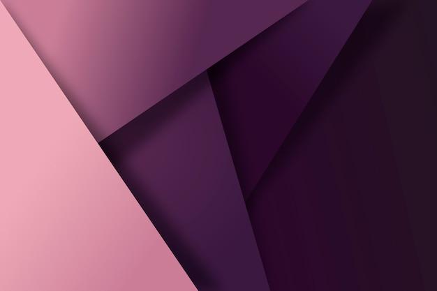 Fundo geométrico roxo Vetor grátis