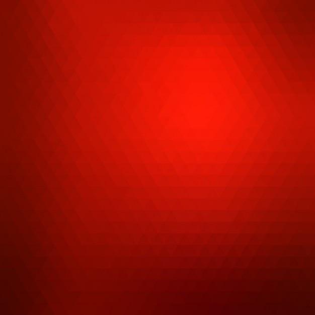 Fundo geométrico vermelho Vetor grátis