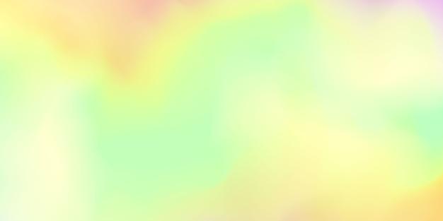 Fundo gradiente colorido pastel abstrato Vetor Premium